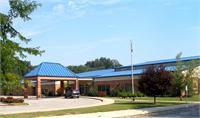 Front view of Summit Elementary School.