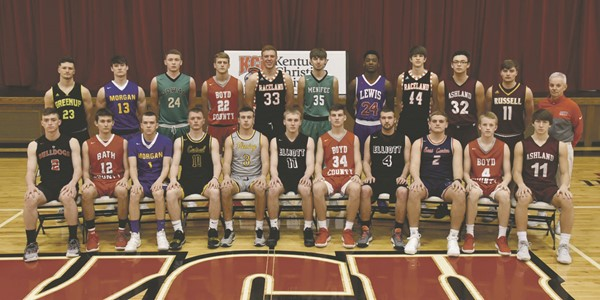 Daily Independent All-Area Basketball team 2018.
