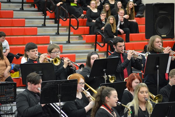 Boyd County High Jazz Band.