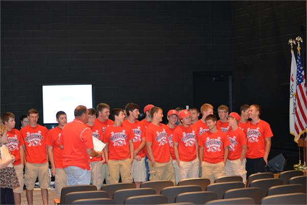 Boyd County Baseball team.