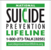 suicide prevention lifeline 1-800-273-8255