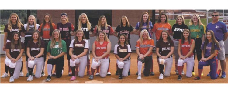 All Area Softball Team - Boyd County Players Selected are Graci Borders and Bailey Conley...Congratulations!