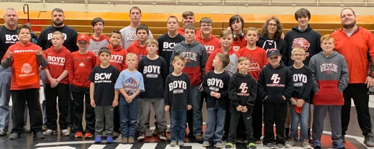 Annual Lions Youth Wrestling Camp