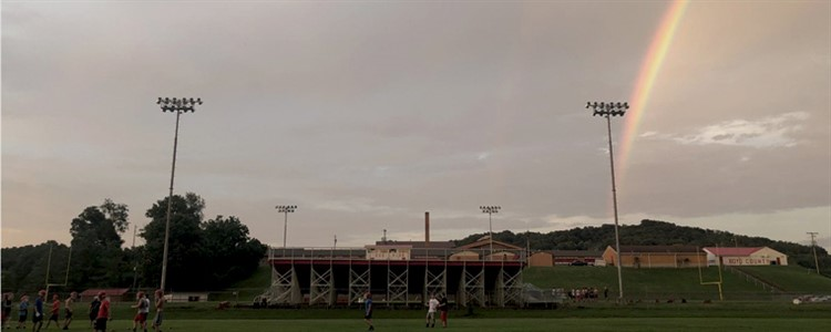 We've have faced many storms....but our future is bright.  Go Boyd County Football!