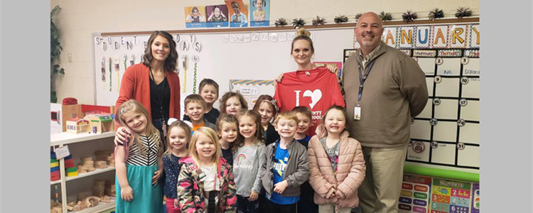 Congratulations to Boyd County Early Childhood Academy's Ms. Lori! #BeTheEample