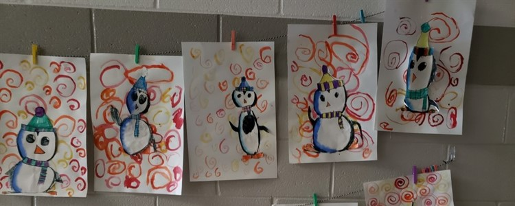 Awesome artwork thanks to Mrs. Yates!