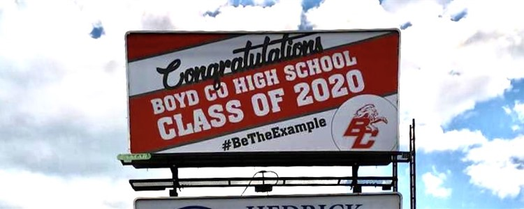 Class of 2020 Billboards - Congratulations Graduates!