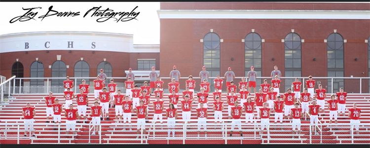 Boyd Count Football 4A District 6 Runner up - Image compliments of Jay Downs Photography