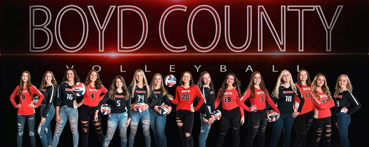 Congratulations Boyd County Lady Lions - 2020 64th District Champions - Image compliments of Jessi Jones Photography