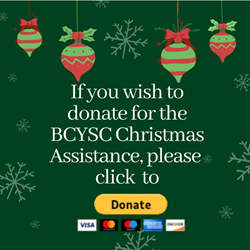 BCYSC Christmas Assistance Donation