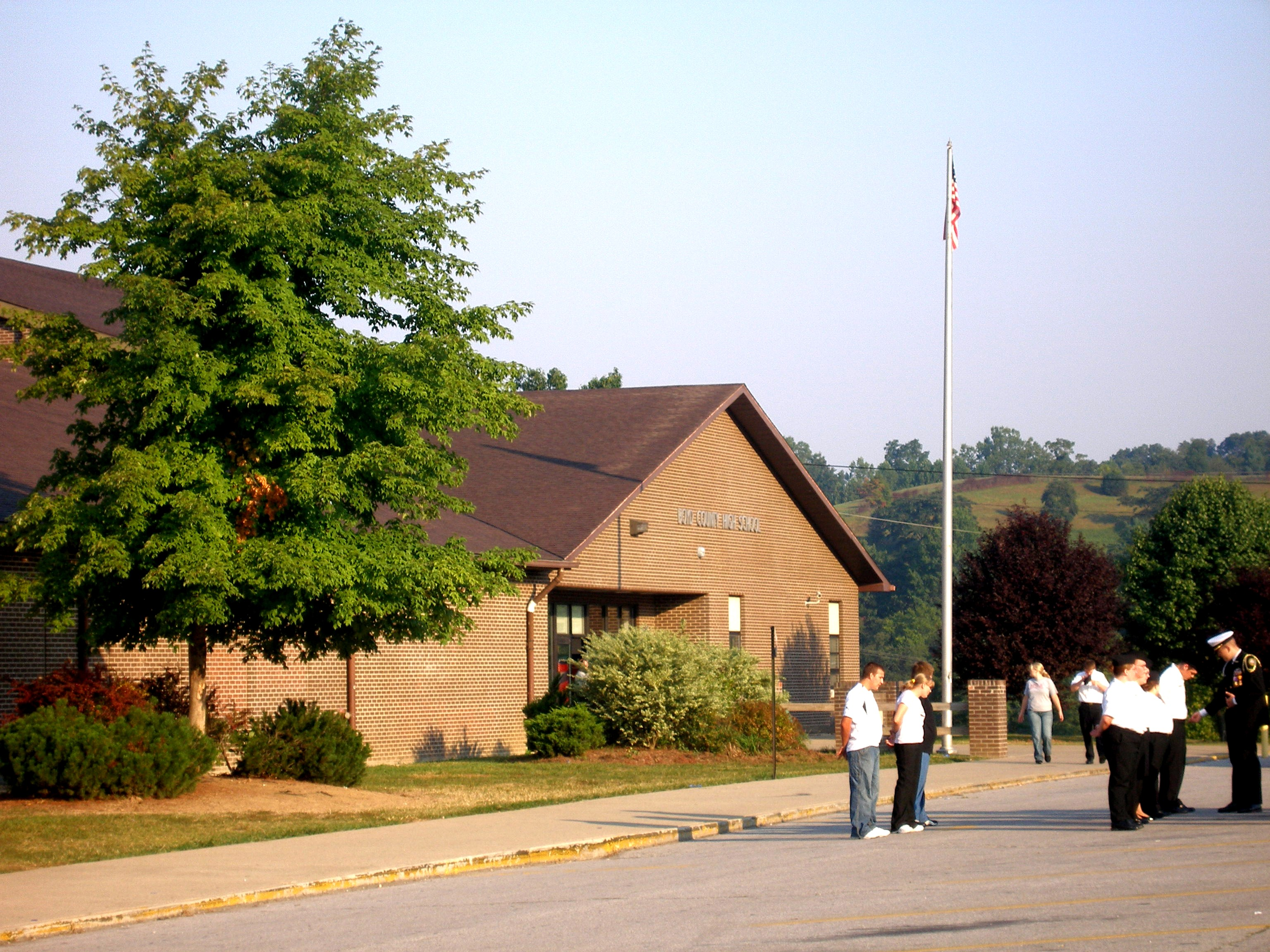 Boyd County Middle School 6th Grade is temporarily housed at the Heritage Center.