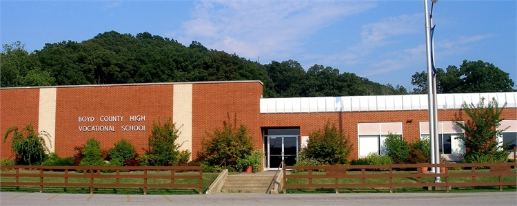 Exterior photo of Boyd County Career and Technical Education Center (BCCTEC)
