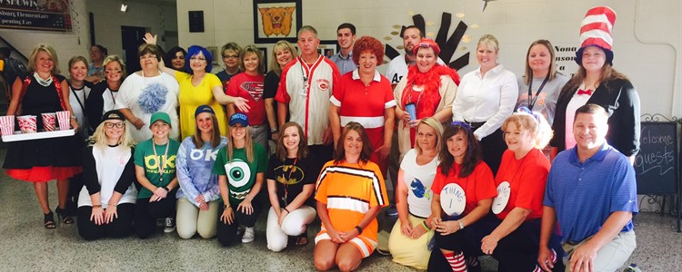 Catlettsburg staff ready for the first day of school