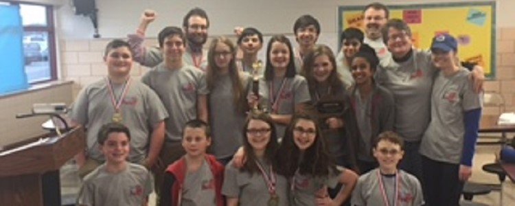 Congrats to the BCMS Academic Team!  They are region Governor's Cup runner-up!   BCMS is state bound!