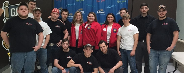 The SkillsUSA competitors from Boyd County High.