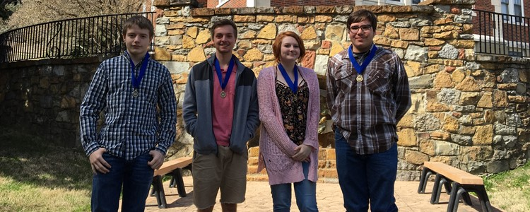 Students of Billy Parker, BCHS instructor, traveled to Morehead State University to compete in the National History Day competition. All of the students qualified to go on to the state finals.