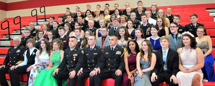 The 2017 Military Ball.