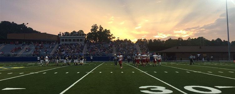 Beautiful night for football.