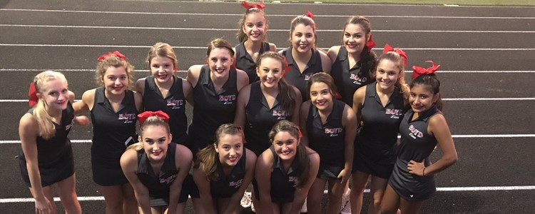 Jr. Varsity Cheerleaders.