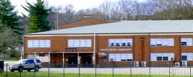 Photo of Catlettsburg Elementary which houses the Catlettsburg Preschool.