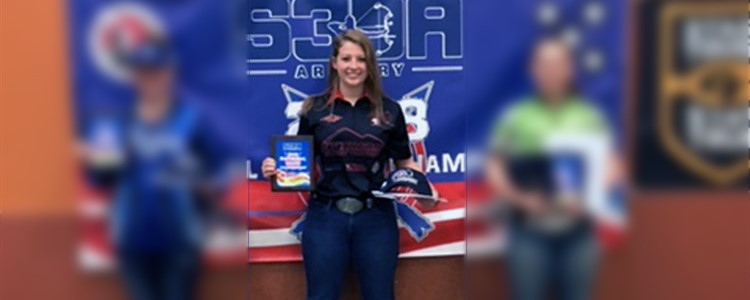 Congratulations, Katie Hemmann! She placed FIRST at the National Scholastic 3-D Archery competition in the 15-18-year-old Female fixed pins division!