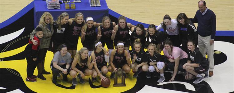 Our Region 16 Champs! It's on to state, Lady Lions!