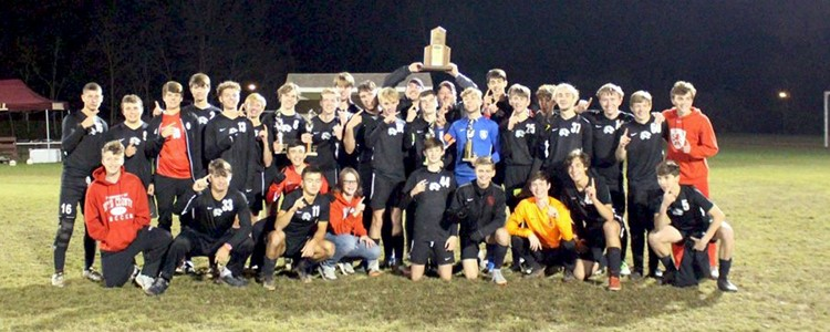 BCHS Boys Soccer Team - 16th Region Champs, 63rd District Champs, and KHSAA Elite 8 Participant!