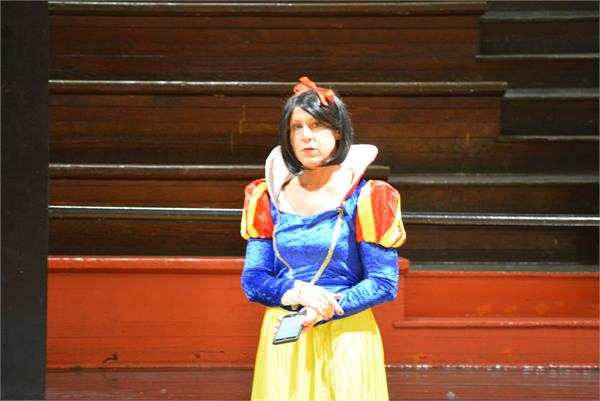 A Catlettsburg teacher dressed as Snow White.