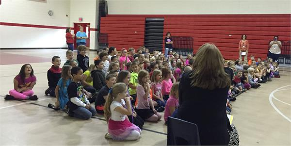 FCCLA Performs for Summit Elementary