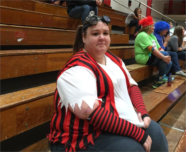 BCMS teacher dons a costume