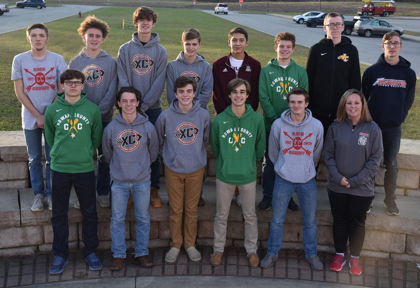 The Daily Independent All-Area Boys Cross Country Team.