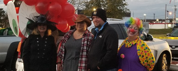 Kelli Davis Inspired the ReGroup Trunk or Treat... All of Her Coworkers Showed Up for the Fun