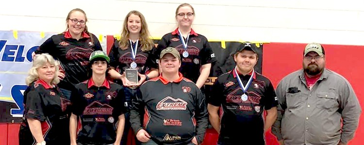 Congratulations to the Boyd Country S3DA Team - First Place at shoot in Jackson County, Ky. Special congrats to Erica Withrow - First in HS Female Fixed Pins; Katie Hemmann - First in HS Female Open and Bryant Rakes - Third in HS Male Open!
