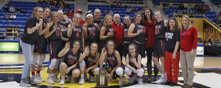 Congratulations to our Lady Lions!  16th Region Girls Championship