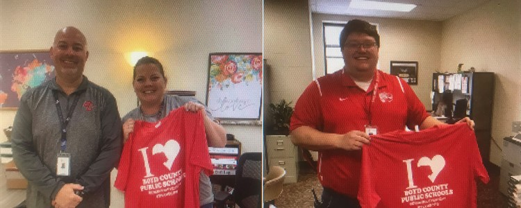 Happy Assistant Principals' Week to Ms. Osborne, Mr. Meade, and Ms. Bartley.  Ms. Bartley was not available for a photo.